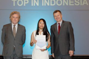 Top in Indonesia Award for IGCSEs Foreign Language Malay