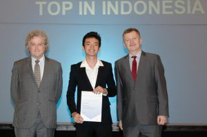 First Place Best Across Four Cambridge AS Level Award & Top in Indonesia Award for AS Level Physics